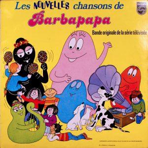 Disque vinyle 33 tours - Les nouvelles chansons de Barbapapa - Face A