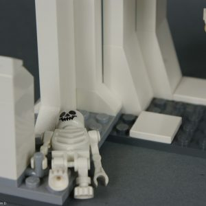 Un squelette :( - Lego Star Wars - Hoth Wampa Cave - Rèf Lego : 8089