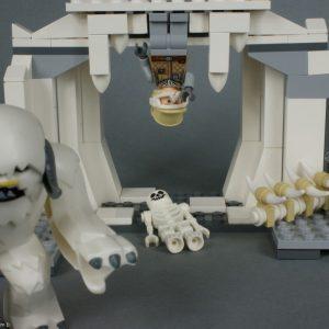 La grotte du Wampa - Lego Star Wars - Hoth Wampa Cave - Rèf Lego : 8089