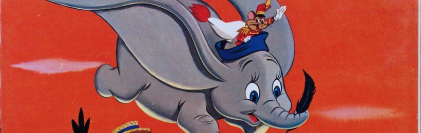 Livre-Disque 33 tours - Dumbo - Face A - Walt Disney