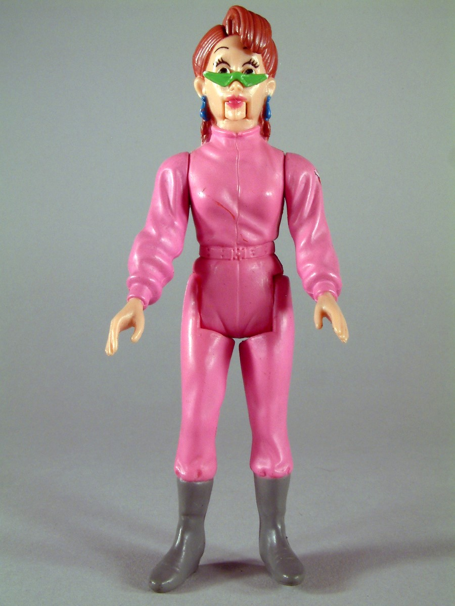 Janine Melnitz - The real Ghosthbusters - Kenner