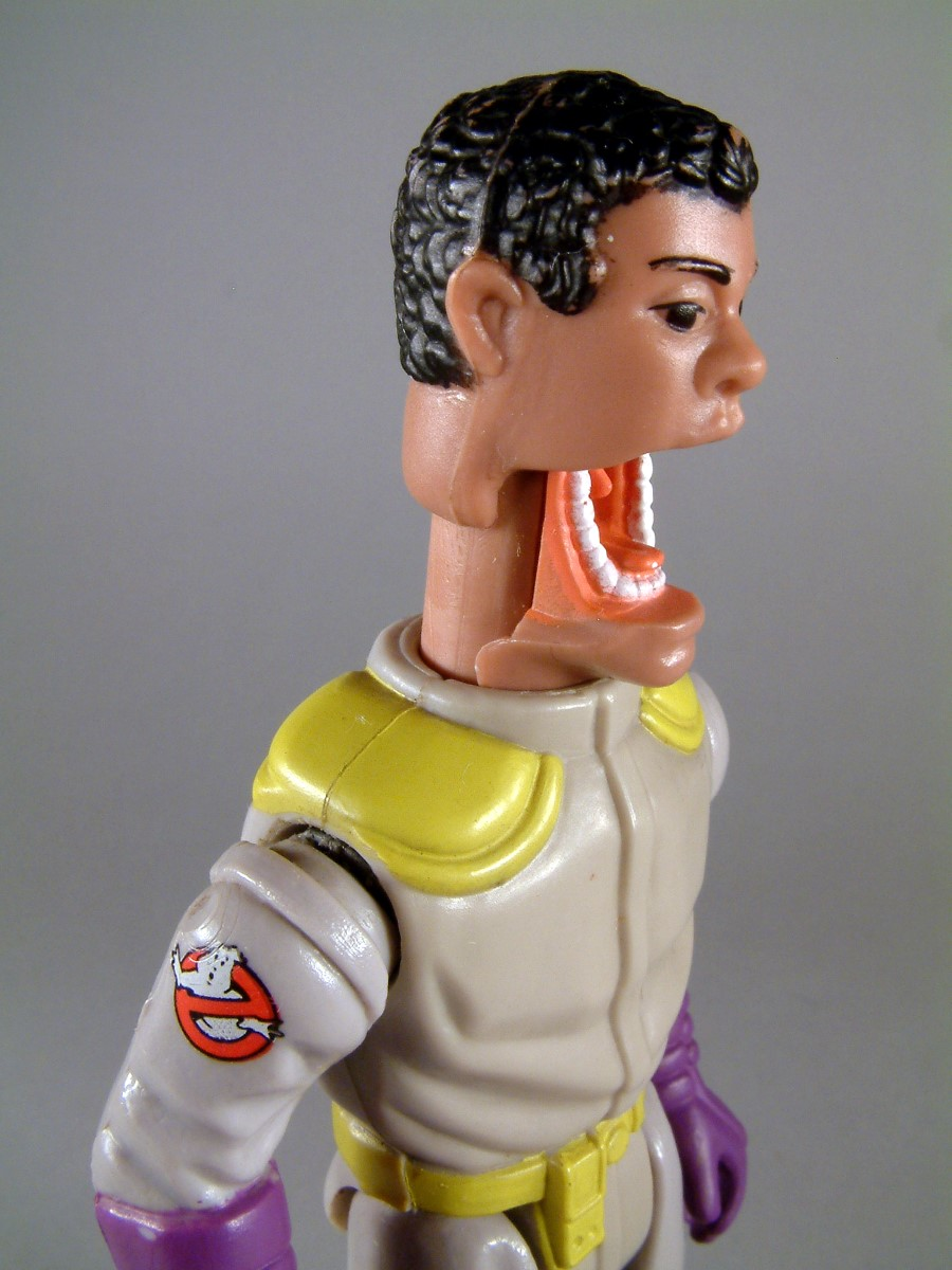 Winston Zeddmore - The real Ghosthbusters - Kenner