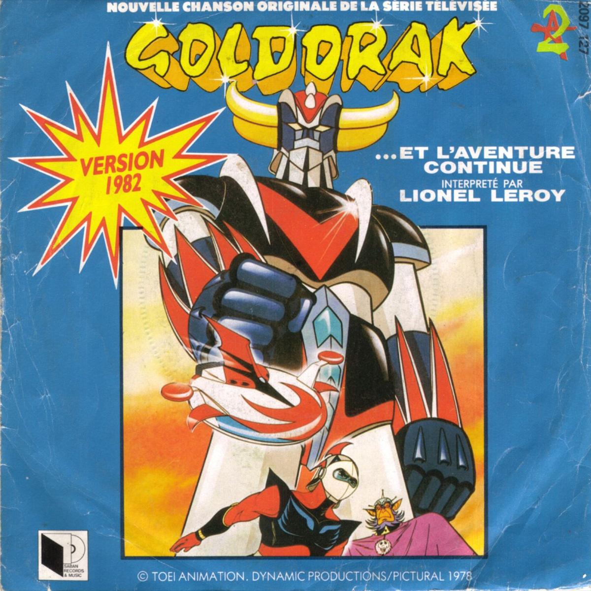 Disque 45trs - Goldorak - ..et l'aventure continue - Face A