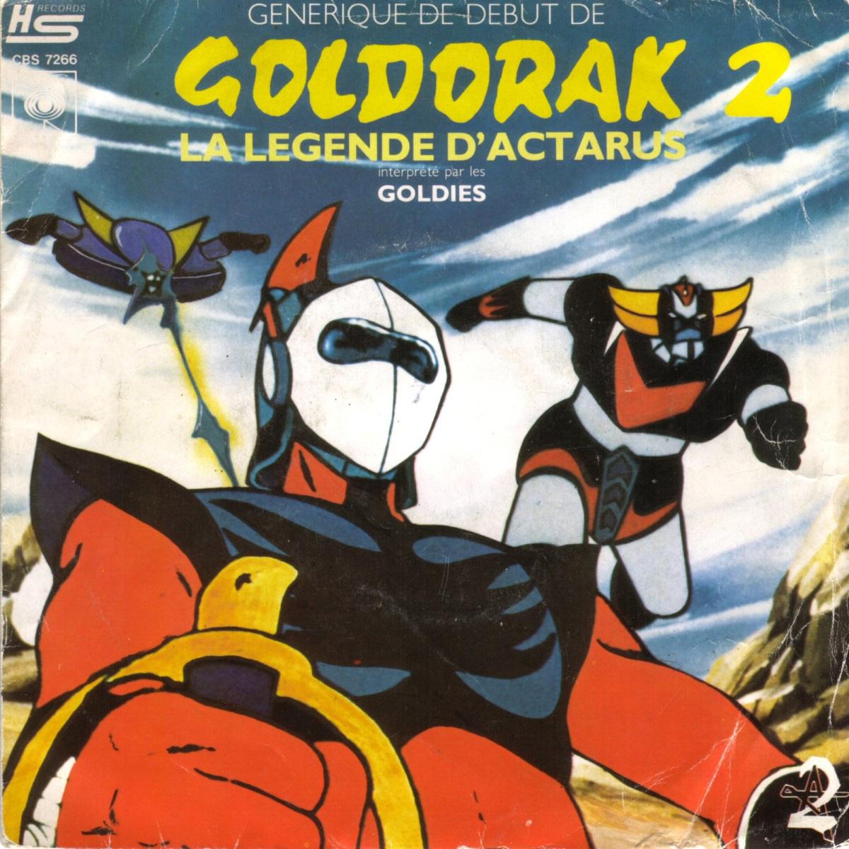 Disque 45trs - Goldorak 2 - La légende d'Actarus - Face A