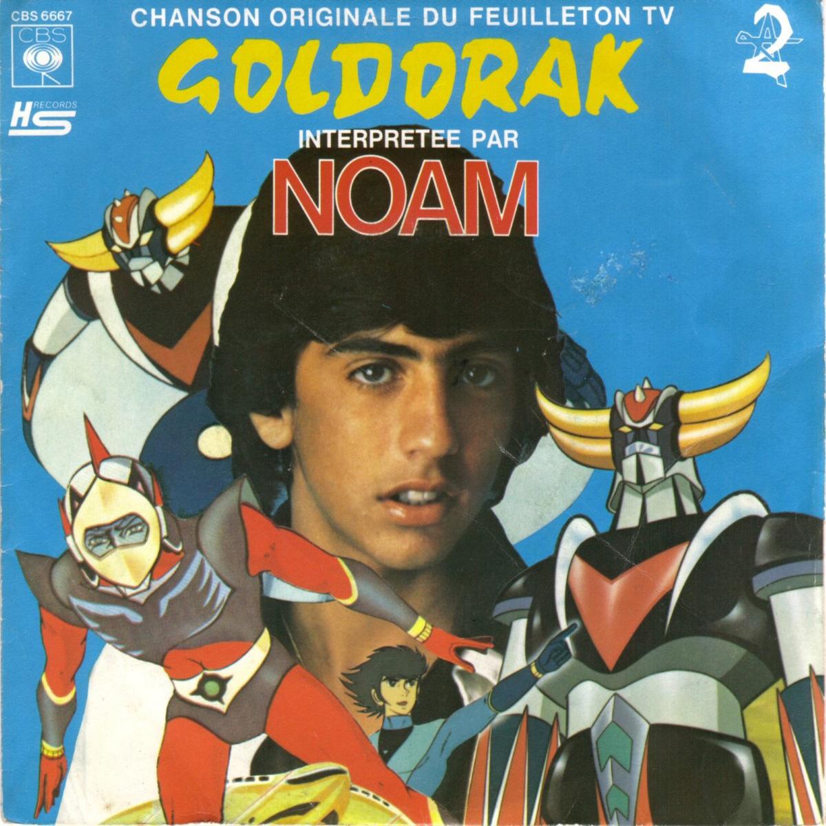 Disque 45trs Goldorak face A