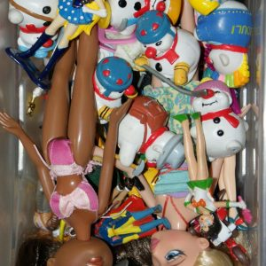 Figurines Bouli, Bratz, Sailor moon