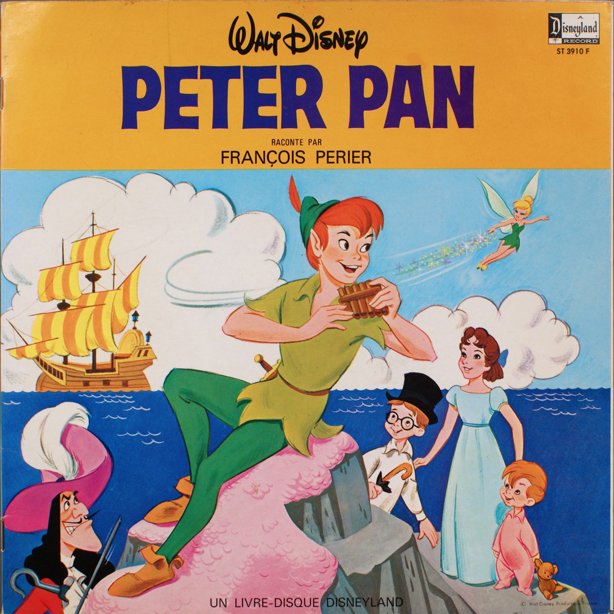 Peter Pan - Disque 33 - Face A