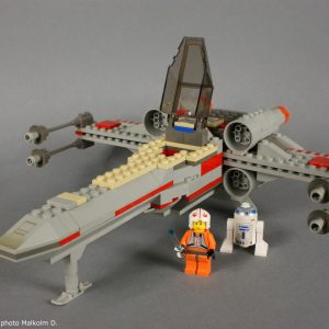 Set Lego Star Wars X-Wing (réf: 7140) de 1999