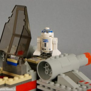 R2-D2 détail - Set Lego Star Wars X-Wing (réf: 7140) de 1999