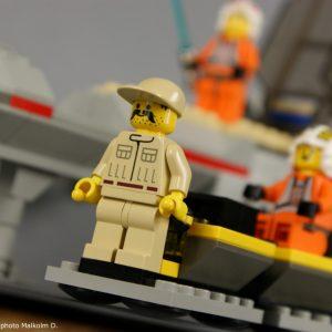 Mécanicien détail - Set Lego Star Wars X-Wing (réf: 7140) de 1999