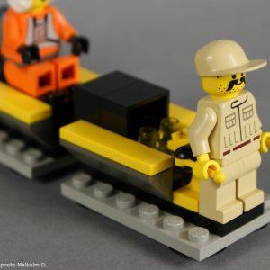 Mécanicien - Set Lego Star Wars X-Wing (réf: 7140) de 1999