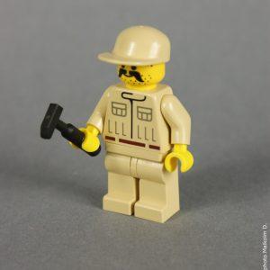 Figurine mécanicien rebelle - Lego Star Wars X-Wing (réf: 7140) de 1999