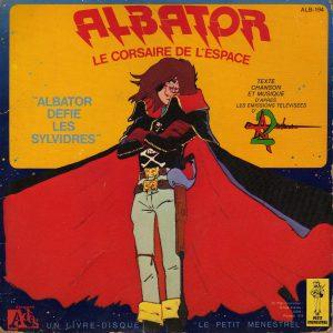 Livre disque 45trs - Albator défie les sylvidres - Recto