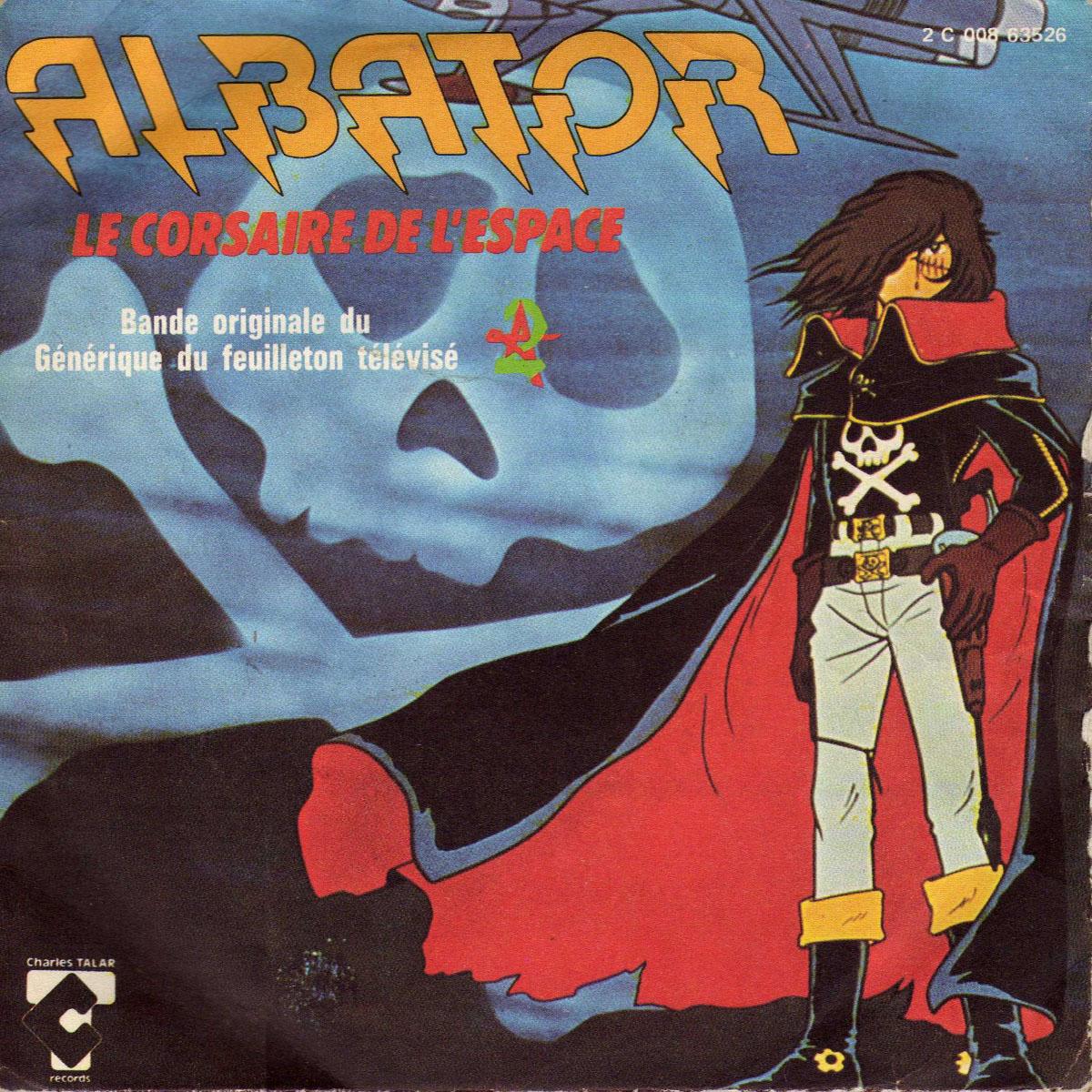 Disque 45trs - Albator Le corsaire de l'espace