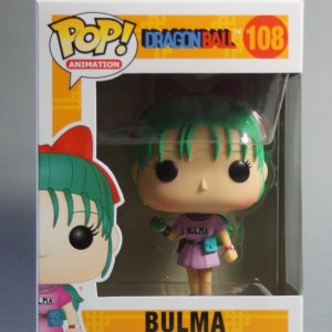 Figurine Pop! n°108 - Bulma - Dragon Ball - Min in box