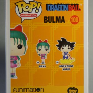 Figurine Pop! n°108 - Bulma - Dragon Ball - Boîte dos