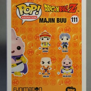 Figurine Pop! n°111 - Majin Buu - Dragon Ball Z - Boîte dos