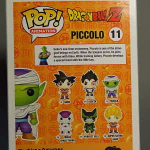 Figurine Pop! n°11 - Piccolo - Dragon Ball Z - Boîte dos