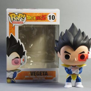 Figurine Pop! n°10 - Vegeta - Dragon Ball Z - Sortie de boîte