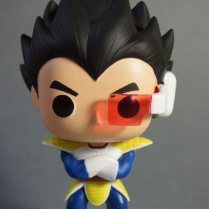Figurine Pop! n°10 - Vegeta - Dragon Ball Z - De face