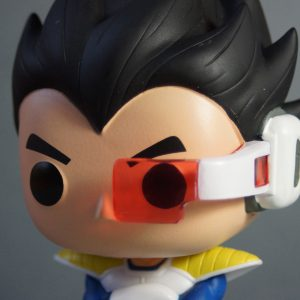 Figurine Pop! n°10 - Vegeta - Dragon Ball Z - Détail