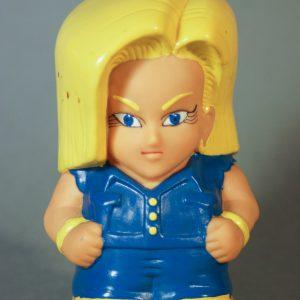 Dragon Ball Z - Super Deformed - C18 - Face