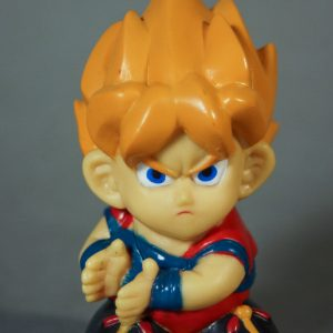 Dragon Ball Z - Super Deformed - Sangoku super Sayan - Face