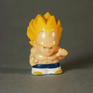 Dragon Ball Z - Super Deformed - Vegeta Super Saïyan - Face