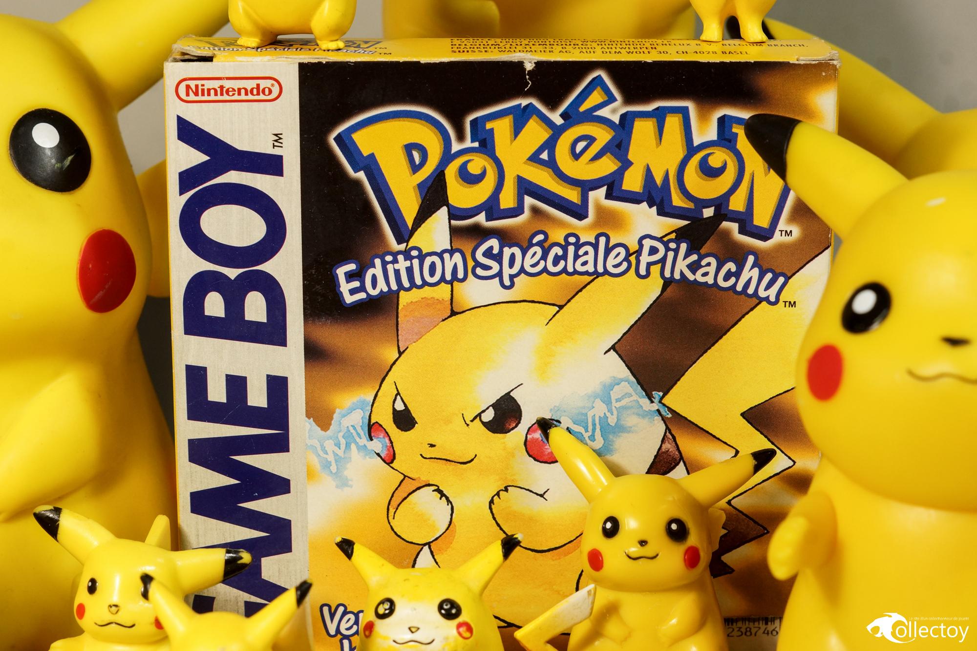 Jeux Pokémon Version Jaune Edition Spéciale Pikachu sur Nintendo Game Boy